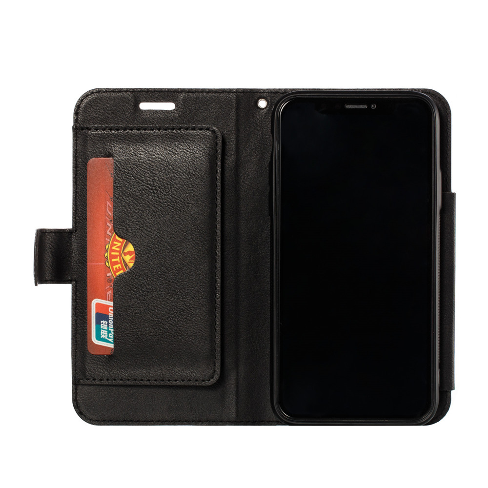 Retro PU Leather Case iPhone 7 6 6S 8 Plus Case iPhone X XS Max XR Case Cover Detachable 2 in 1 Multi Card Wallet Phone cases71