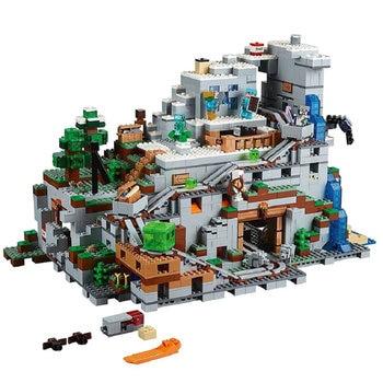Jeu Construction Lego Grotte Montagne Minecraft