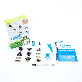 Circuit scribe super kit DIY drawing circuit on paper with electric ink electronic kits for children educational toys