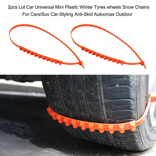 Anti Skid Chains For Automobiles Snow Mud Wheel Tyre Car/Truck Tire Cable Winter Tyres Tyres Wheels Wheels Snow Snow Chains