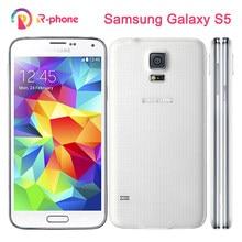 Original Samsung Galaxy S5 I9600 desbloqueado teléfono móvil 3G y 4G 16MP GPS WIFI reformado teléfono Android