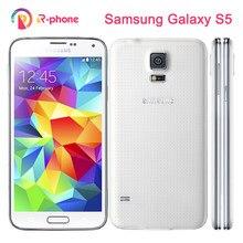 Oryginalny Samsung Galaxy S5 I9600 odblokowany telefon komórkowy 3G i 4G 16MP GPS WIFI odnowiony telefon z systemem Android