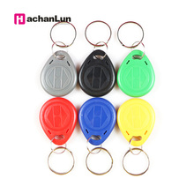 10 Pcs/lot EM4305 Copy Rewritable Writable Rewrite ID keyfobs RFID Tag Key Ring Card 125KHZ Proximity Token Access Duplicate 10pcs lot em4305 blank rfid 125khz card rewritable writable rewrite em id proximity access control card