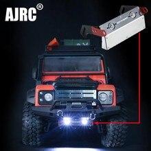 Traxxas TRX 4 Defender TRX4 Bronco Voorbumper Metalen Bescherming Plaat Chassis Armor Lamp Voor 1/10 Rc Simulatie Klimmen Auto