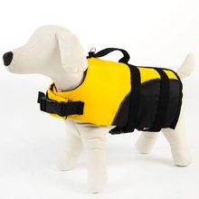 Hoopet Pet Dog Life Vest Collar Harness Saver Jacket Safety Clothes Swimming Preserver Summer Swimwear