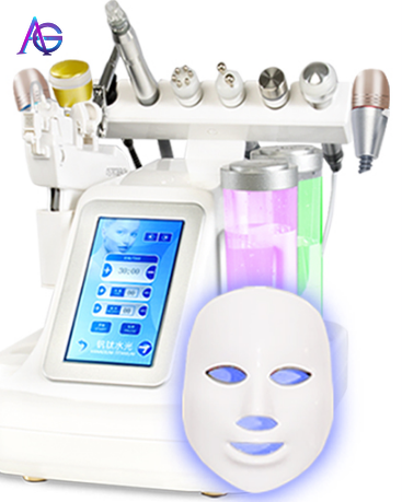 Tecnologias Nuevas 2019 Hydrafacial Korea Ultra-fine Bubble Beauty Salon Equipment Cleaner To Suck Blackhead