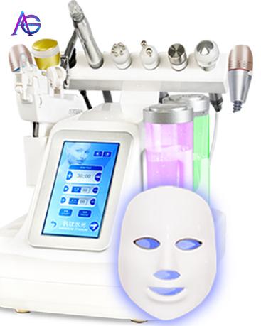 Tecnologias Nuevas 2019 Hydrafacial Korea Ultra-fine Bubble Beauty Salon Equipment Cleaner To Suck Blackhead