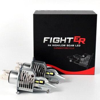 HAOSJ H4 led car headlight лед лампа H4 Led bulb for car / motorcycle light bulbs светодиодные лампы