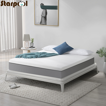 12 Inches comfortable mattresses Super luxury latex sponge filling Foldable mats folding bed product