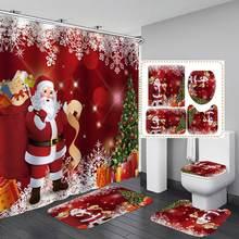 Набор аксессуаров для ванной комнаты коврик u образной формы
