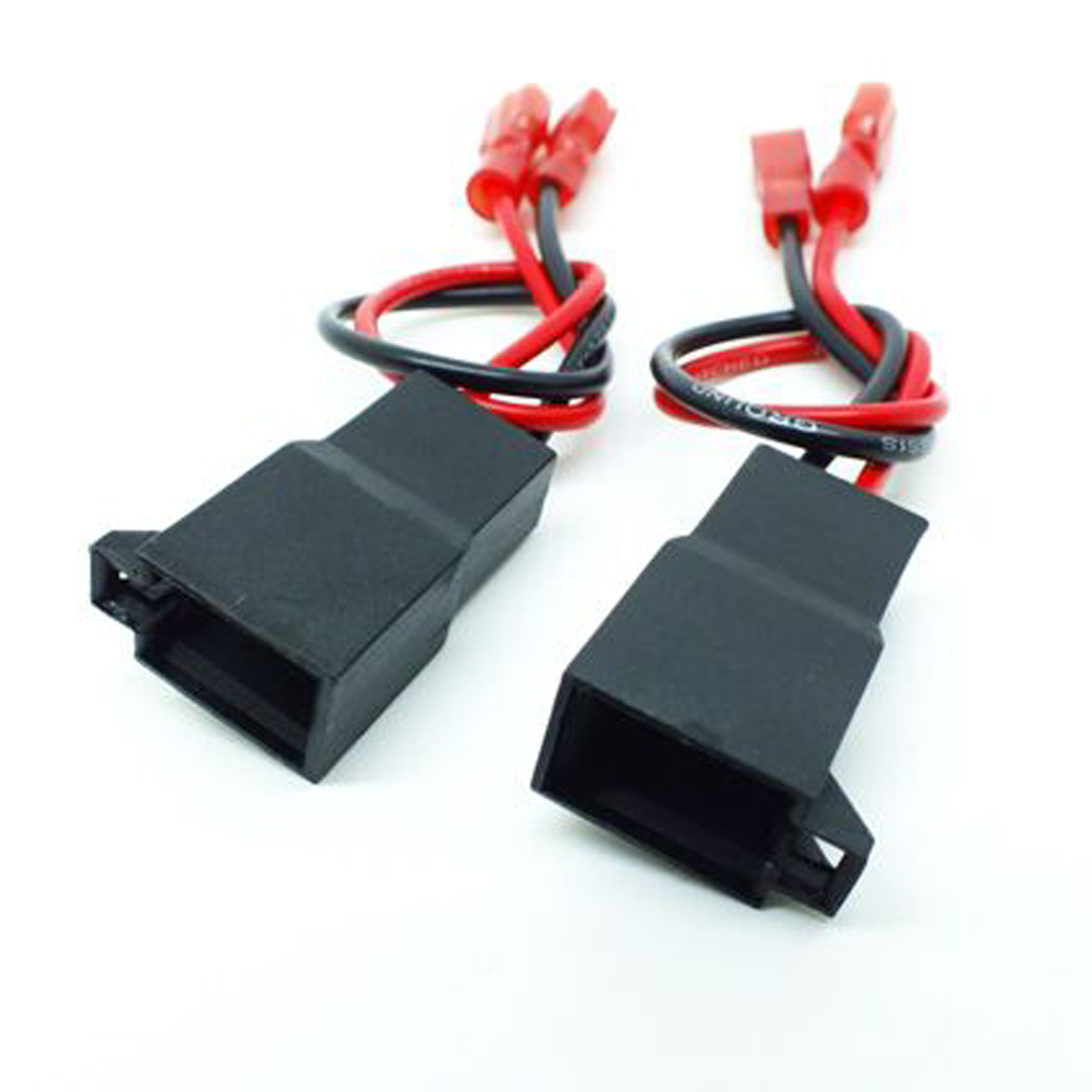 1 Pair Speaker Connection Wire Harness Adaptors For Renault Vauxhall Astra