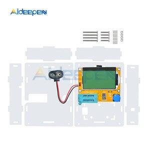 Image 2 - Boîtier en acrylique transparent pour Transistor et testeur de capacité LCR T4 M328 ESR Mega328 Kit de bricolage (boîtier uniquement)