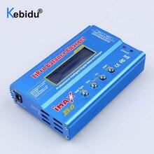 Kebidu imax b6 lipro carregador de equilíbrio de bateria com tela lcd digital nimh li ion ni cd digital rc carregador de equilíbrio descarregador
