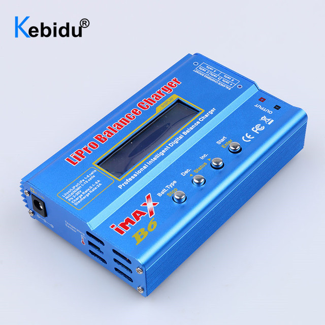 Kebidu imax b6 lipro 디지털 방식으로 lcd 스크린을 가진 건전지 균형 충전기 nimh li 이온 ni cd 디지털 방식으로 rc 충전기 균형 방전기