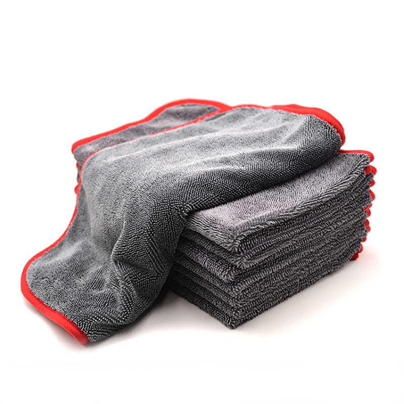 600gsm40*100 سنتيمتر منشفة سيارة من الألياف الصغيرة غسل القماش سيارة تنظيف أداة بالتفصيل تجفيف منشفة سميكة مصقول منشفة سوبر الامتصاص