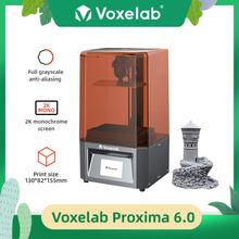 Voxelab Proxima 6.0in Mono SLA Monochrome LCD 3D Printer UV Photocuring Resin Принтер Print Size 5.12x 3.23 x 6.10in Beginners