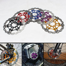160mm 180mm 203mm Disc Brake Rotor for SNAIL Mountain Bike MTB Float Floating Cycling Bicycle Aluminum Rotors Disc Brake Rotor цены онлайн