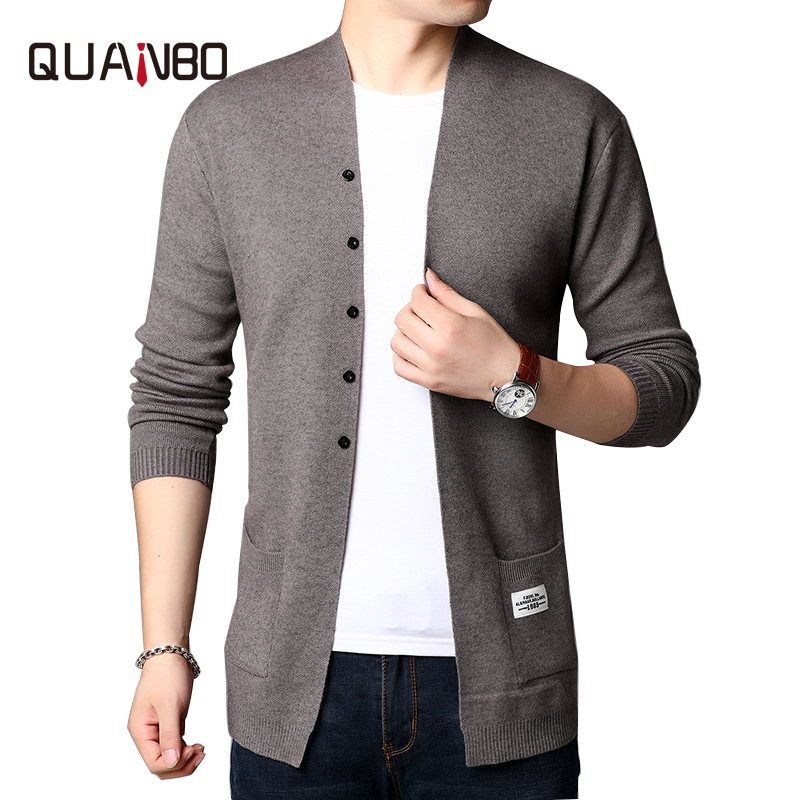 2020 New Fashion Brand Sweaters for Mens Cardigan Long Slim Fit Jumpers Knitred Thin Coats Korean Style Casual Men Clothes