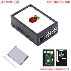 3,5-дюймовый Raspberry Pi 3 Model B + сенсорный экран 480*320 ЖК-дисплей + сенсорная ручка + ABS Корпус для Raspberry Pi 4 Модель B/3B +/3B