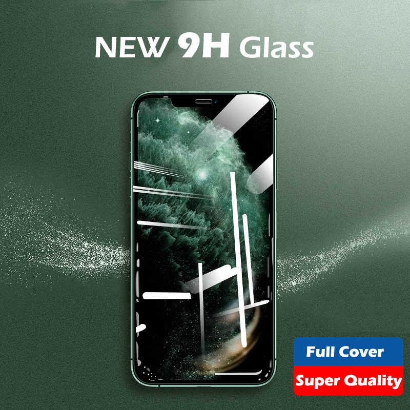 ASTUBIA 9H HD 1-3 PcsกระจกนิรภัยสำหรับiPhone 11 Pro Max 12 Screen Protectorแก้วสำหรับiPhone X XS Max 7 8 Plus 11 Pro 11 ฟิล์ม