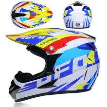 Off-road Motorcycle Helmet Casco Moto Full Face Motocross Helm Professional moto