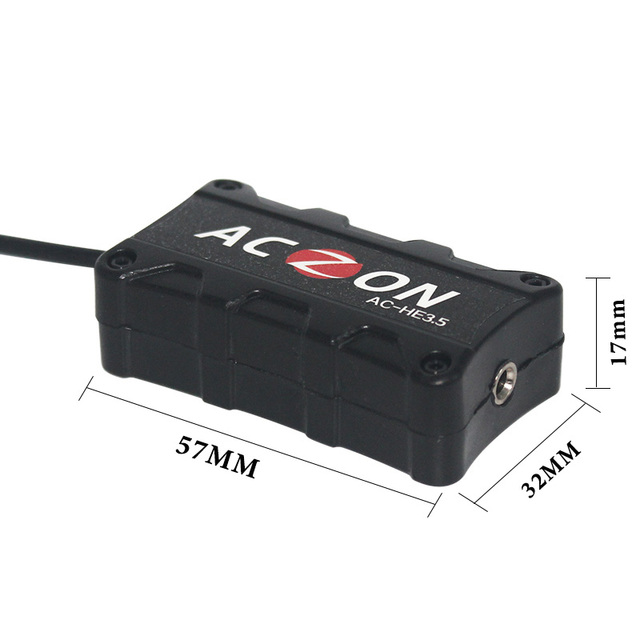 3.5mm Mini Car Audio filtr szumów elektryczne redukcja szumów słuchawki systemie Audio Home Stereo wyeliminować tętniącego życiem z redukcją szumów