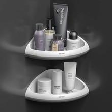 Shelf Storage-Rack Bathroom-Accessories Cosmetic Wall-Mounted Triangular-Corner
