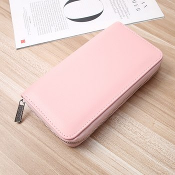 2020 hot sale Women Long Clutch noble Wallet Large Capacity Wallets Female Purse Lady Purses Phone Pocket Card Holder image