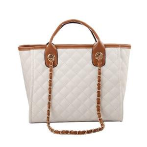 Image 5 - 2019 Large Shoulder Bag Women Travel Bags Leather Pu Quilted Bag Female Luxury Handbags Women Bags Designer Sac A Main Femme