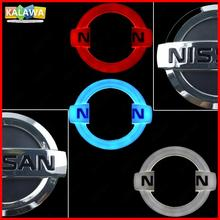 4D Front Rear Automobile LED Emblem Light For NIS SAN Car Badge Logo Lamp Daylighting DRL Secure Bulb LIVINA Cedric Geniss etc