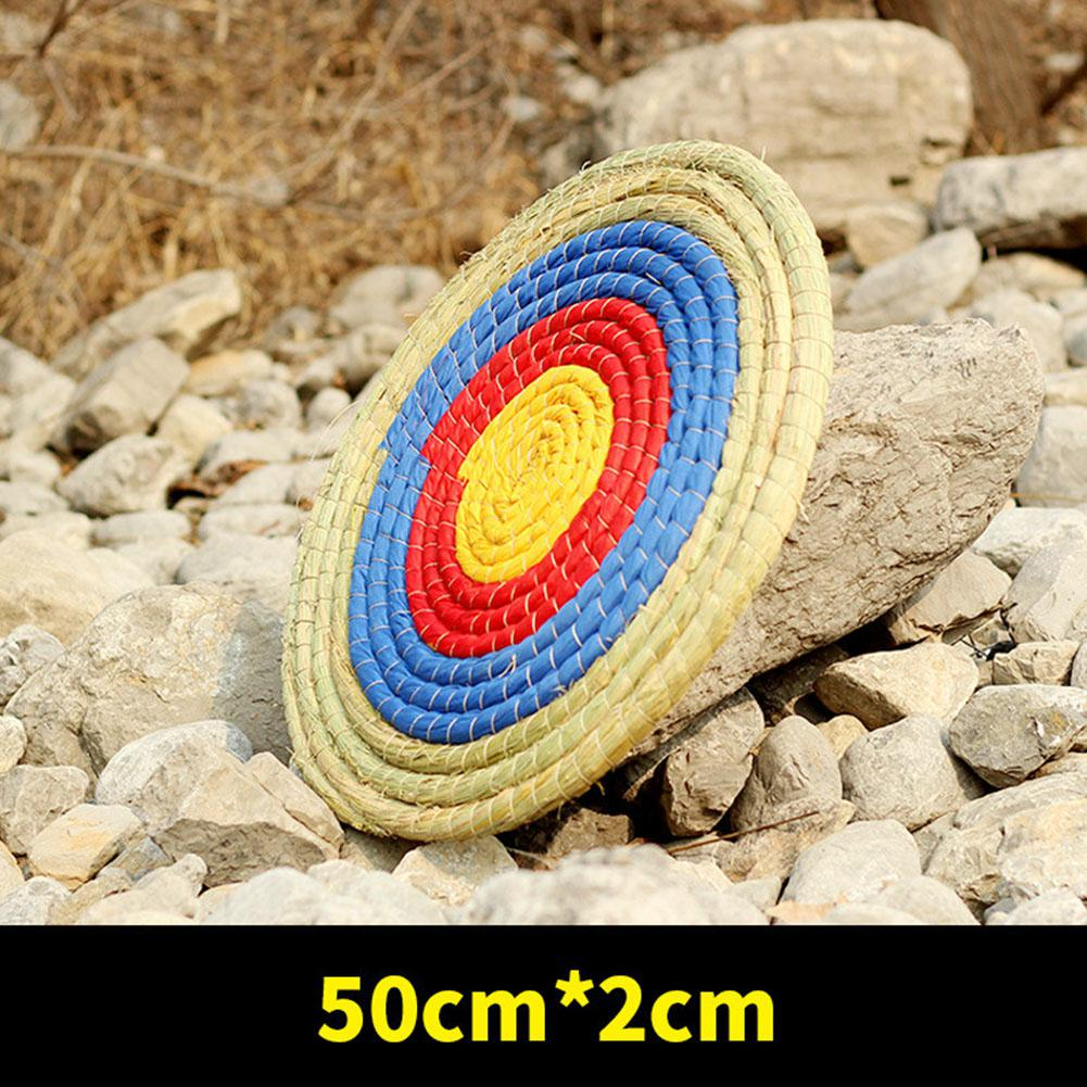 Shooting Traget Single Layer Straw Grass Target Board 50*2cm Arrow Target On For Outdoor Hunting Shooting Pratice Accessories