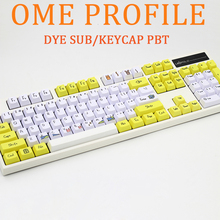 Dye Sub PBT Keycap 108 Key OEM Profile Keycaps For Cherry MX Switches Mechanical Gamer Keyboard Key Cap 104 Xd84 Motospeed Ck104 недорого