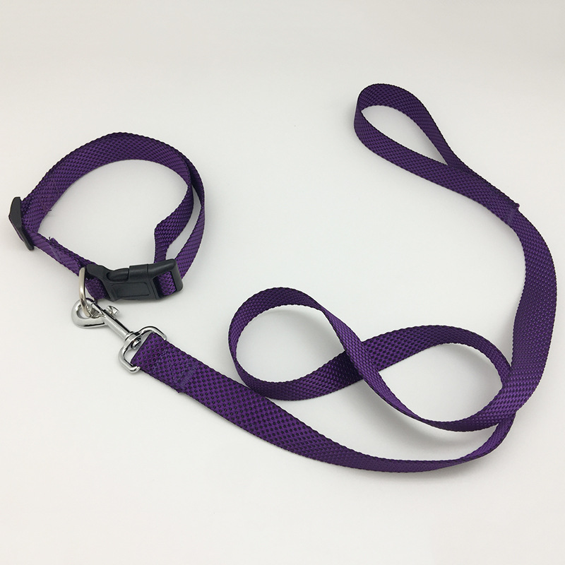 Pet Supplies Dog Neck Ring Metallic Pull Ring Haulage Rope Package-Style Solid Material