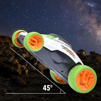 Remote Control Car 2.4GHz Rechargeable Centrifugal Rotation Side Driving Stunt Vehicle RC Car Toy