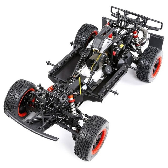 RC Rovan 5SC hoby baja 1/5 scale model 32cc gas engine 2WD ready to run RTR off-road short course truck radio control car