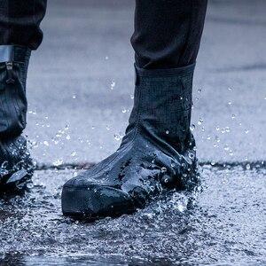 Image 5 - ROCKBROS – couvre chaussures de cyclisme, coupe vent, garde au chaud, équipement de cyclisme, vtt, route, hiver