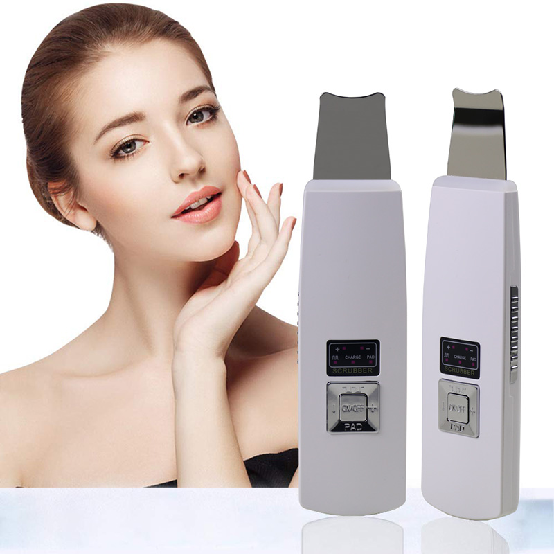 Blackhead Skin Scrubber Scraper And Gentle Peel Device - Pore Cleanser & Exfoliator, Comedone Extractor Facial Lift Treatment