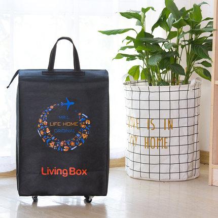 Портативная тележка для продуктов Женская Мужская сумка складная сумка тележка Сумка на колесах купить Сумка для овощей хозяйственная сумка трейлер XYLOBHDG - Цвет: H