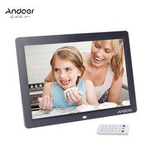 12 ''HD TFT-LCD 1280*800 полноэкранная Цифровая фоторамка Будильник MP3 MP4 видеоплеер с дистанционным управлением