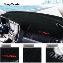Car Dashboard Avoid Light Pad Car styling Instrument Platform Desk Cover Mat For Mitsubishi Outlander 2016 2017 2018 accessories dongzhen fit for mitsubishi asx 2011 to 2016 car dashboard cover avoid light pad instrument platform dash board cover