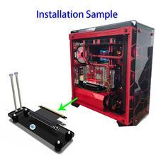 PCI E3.0 16X Adapter Thẻ Mạch Cooler Master Dọc Card Đồ Họa Nẹp Hỗ Trợ Chân Đỡ Chân Đế Cho Bitcoin Thợ Mỏ KHAI THÁC MỎ