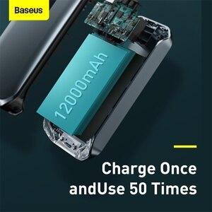 Baseus Auto Starthilfe 12000mAh 1000A Tragbare Notfall Jump Power Bank 600A Booster Start gerät Aufladen Power