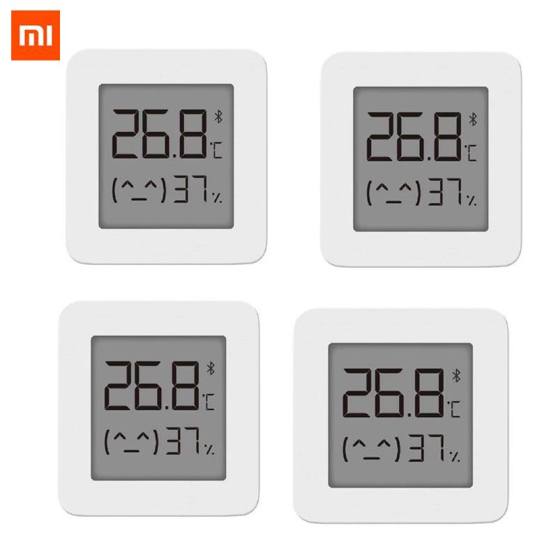 [Newest Version] XIAOMI Mijia Bluetooth Thermometer 2 Wireless Smart Electric Digital Hygrometer Thermometer Work with Mijia APP|Smart Remote Control| |  - title=