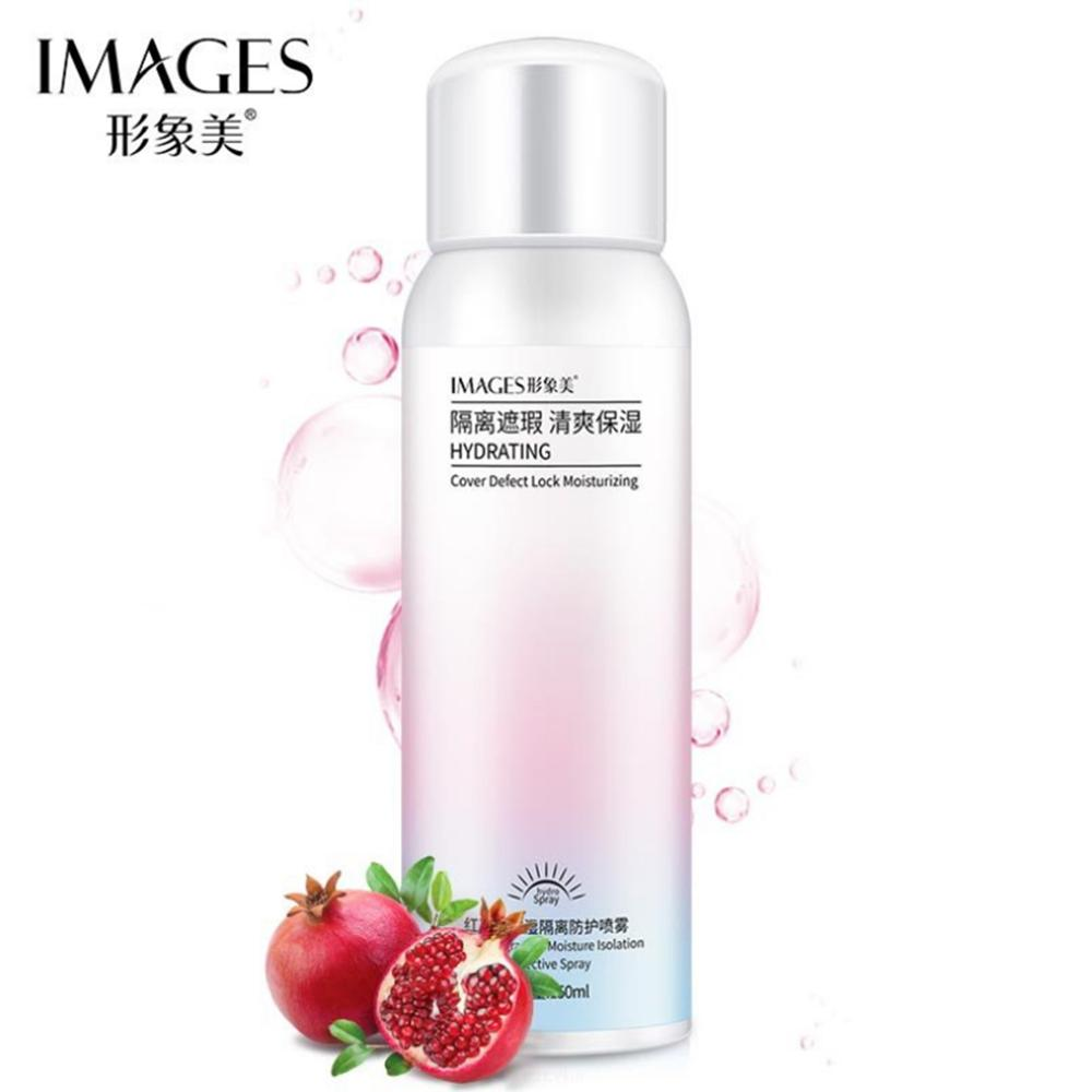 150ml Whitening Red Pomegranate Essence Sunscreen Spray Waterproof Body Neck Moisturizing Hydrating Anti UV Protection