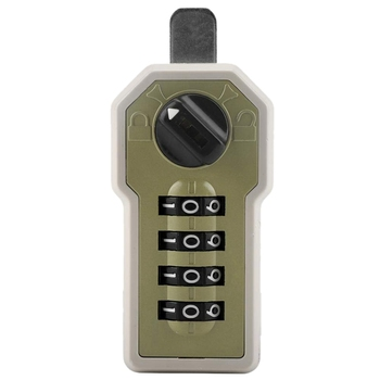 Combination Lock Wall Mounted 4 Digit Code Password Cam Cabinet Convenient Security Coded Lock with Key for Storage Box