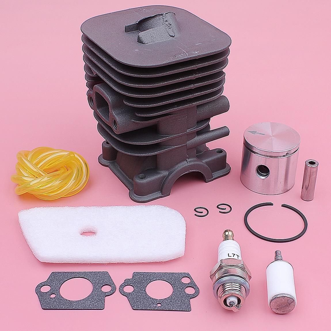 35mm For Kit Air 128L Piston Fuel 128LD 545008082 Filter Spark 128CD Cylinder 128C Trimmer Husqvarna Parts Carb Gasket Plug