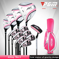 2020 New Women Golf Clubs Adult Complete Club Left Glove Club Golf Beginner Golf Club Full Set of 12 Packs+ball Bag Quality PGM