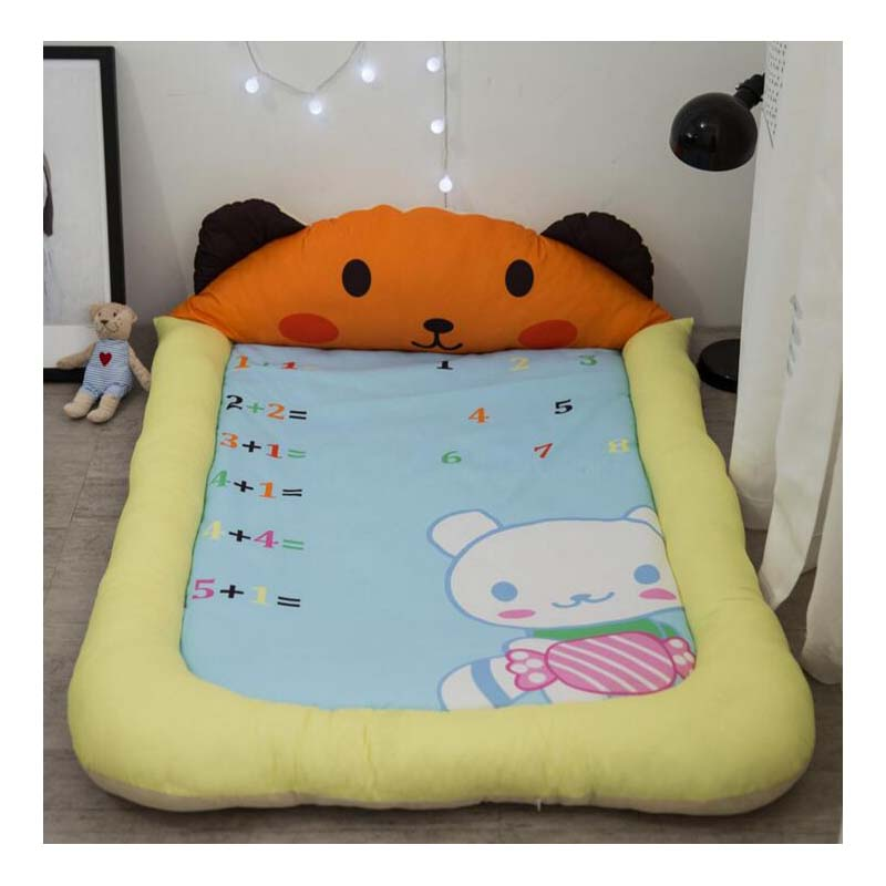 Cartoon Baby Game Pad Early Education Children Big Pillow Floor Mat Bedroom Baby Crawling Mat Soft Mattress Anti-Fall