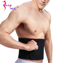 SEXYWG Men Shaper Muscle Build Up Corset Slimming Waist Trainer Body Neoprene Sauna Belt Fitness Lumbar Support Sport Top