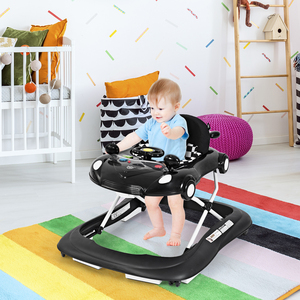 2-in-1 Foldable Baby Walker Ad